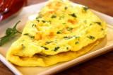 Omelette à la Poutargue
